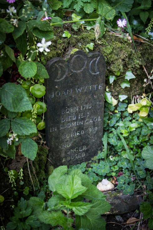 The grave of Joan Wytte